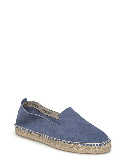 ESPADRILLE FLAT - 690 BLUE TEAL MISTY ROSE