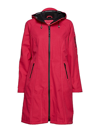 LONG RAINCOAT - WARM PINK