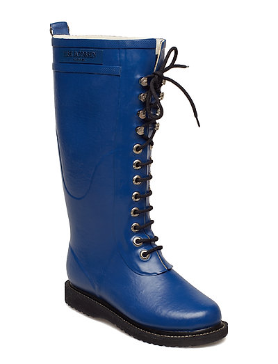 RAIN BOOT - LONG, CLASSIC WITH LACES - TRUE BLUE
