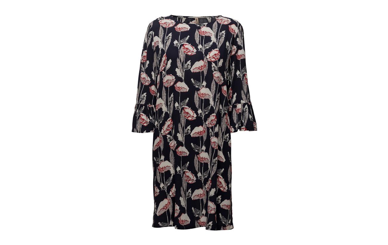 100 Imitz Blue Suiting Dress Wave Viscose Mix wx8Oz0v