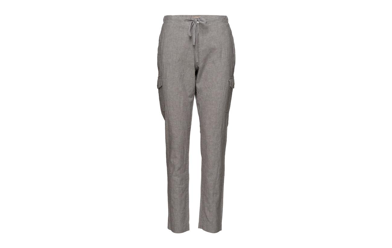 Lin Coton Grey 50 Imitz Casual Mix Luna Pants xwq6YfB0