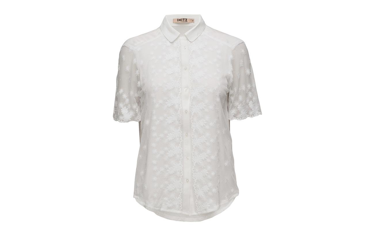 s 100 Imitz Shirt Viscose Woven S White OaWBnvw6q