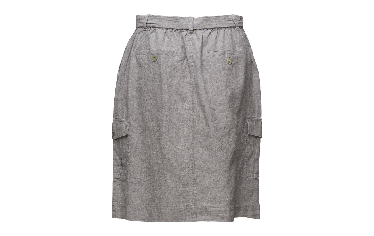 White Coton Casual 50 Skirt Lin Imitz x1ECq4wzHx