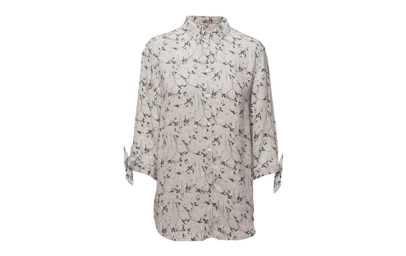 Imitz s Mix Hyacinth 100 Woven L Viscose Shirt RRfwnqAZ