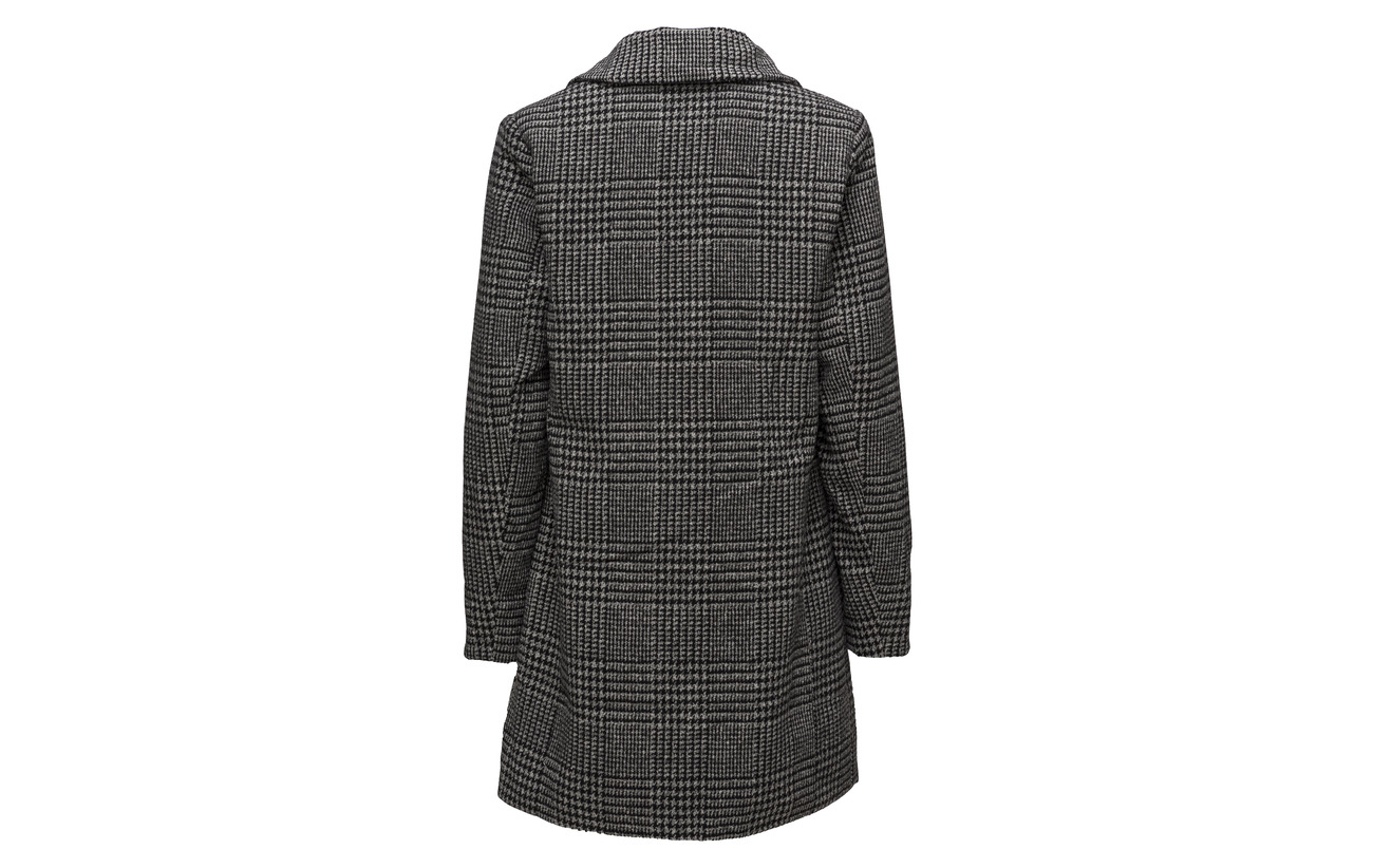Acrylique Coat Mix 88 2 Laine Polyamide Black Polyester 5 Heavy Outerwear Imitz Pdw1ZP