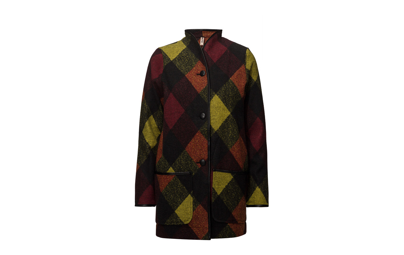Polyester Heavy Imitz Burnt 60 40 Cardigan Sienna Mix knit Laine Hwxf6
