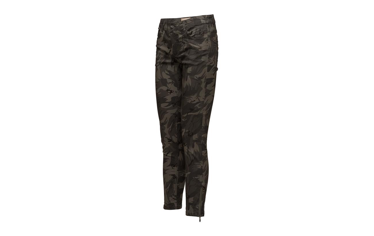 2 57 41 Lyocell Elastane Capri Pants Coton Imitz Gunmetal Mix Y7wqa8I8