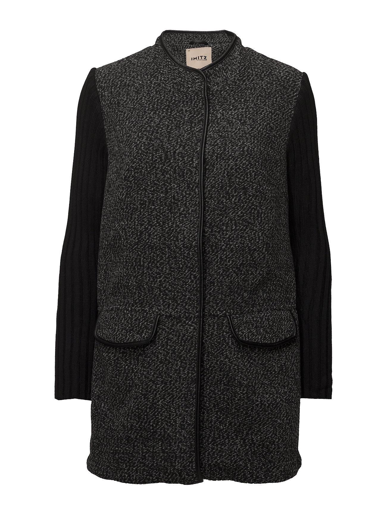 Imitz Cardigan-knit Heavy - BLACK MIX
