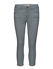 Capri pants-denim - TWILIGHT BLUE MIX