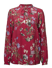 Blouse-woven - RED BEAUTY MIX