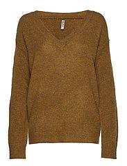 Pullover-knit Heavy - BUTTERNUT MIX