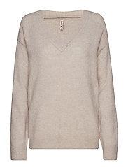 Pullover-knit Heavy - DOVE MIX