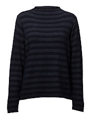 Pullover-knit Heavy - FRENCH NAVY MIX