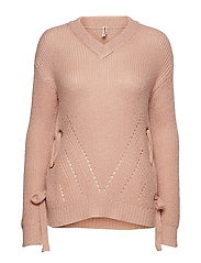 Pullover-knit Heavy - POWDER ROSE