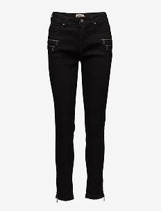 Capri pants-denim - BLACK WASH