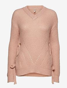 Pullover-knit Heavy - POWDER ROSE