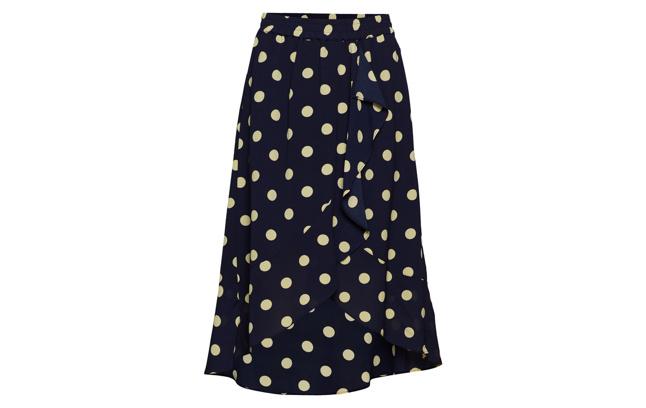 Inwear 100 Valeria Intérieure 95 Polka Équipement Lemon Marine Light Dot Lw Polyester Doublure 5 Elastane Skirt Polyester vvqUdwr