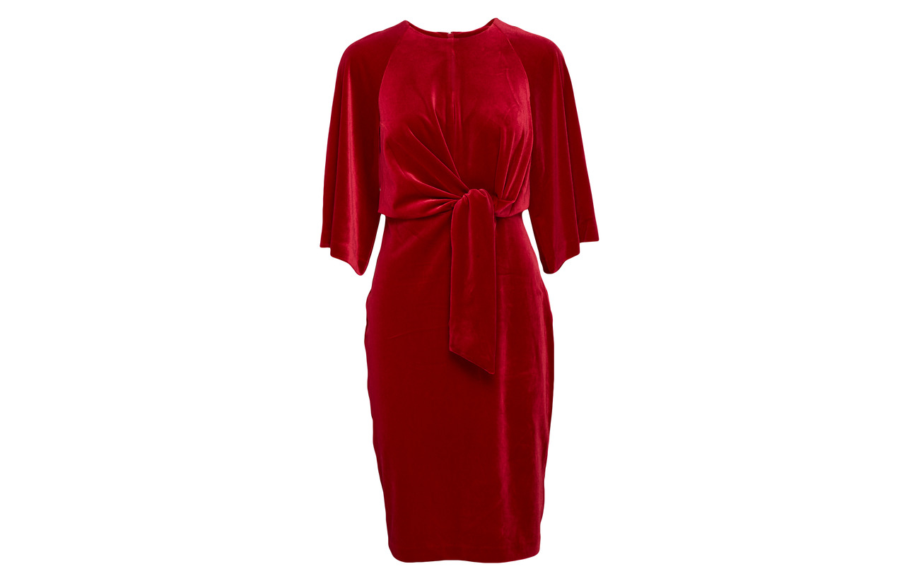 Polyester 10 Elastane True front 90 Inwear Tie Dress Vonda Red qZ0v08