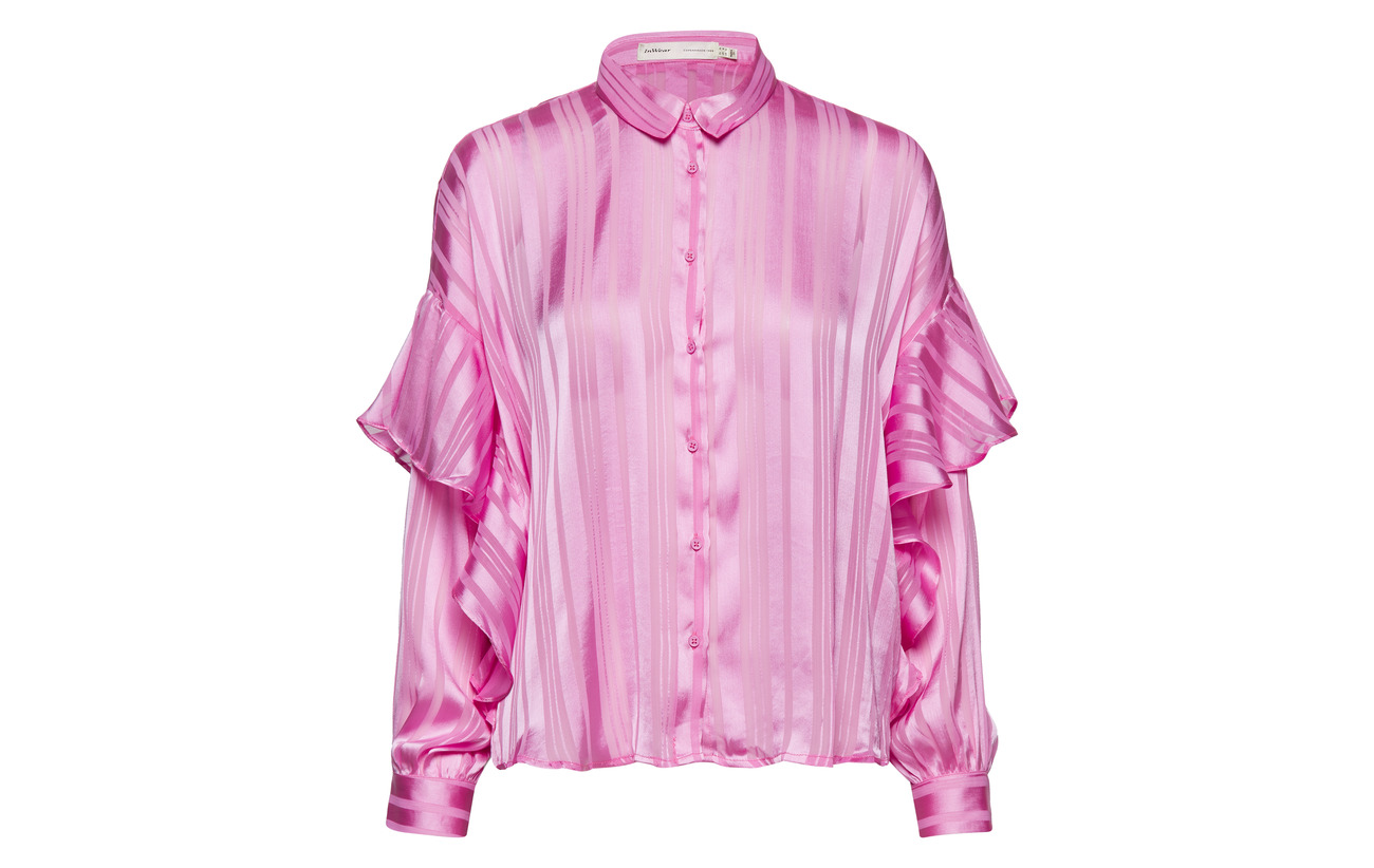 100 Inwear Shirt Hilma Flowers Polyester Purple Ov6IUxv