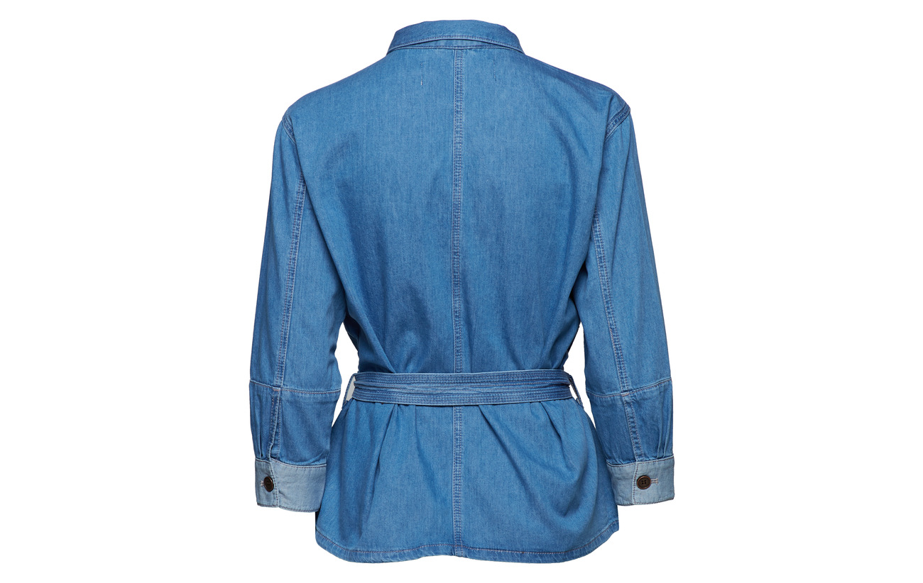 Vintage Jacket Coton Light Ajda Indigo Inwear 100 qPxIF7Ow