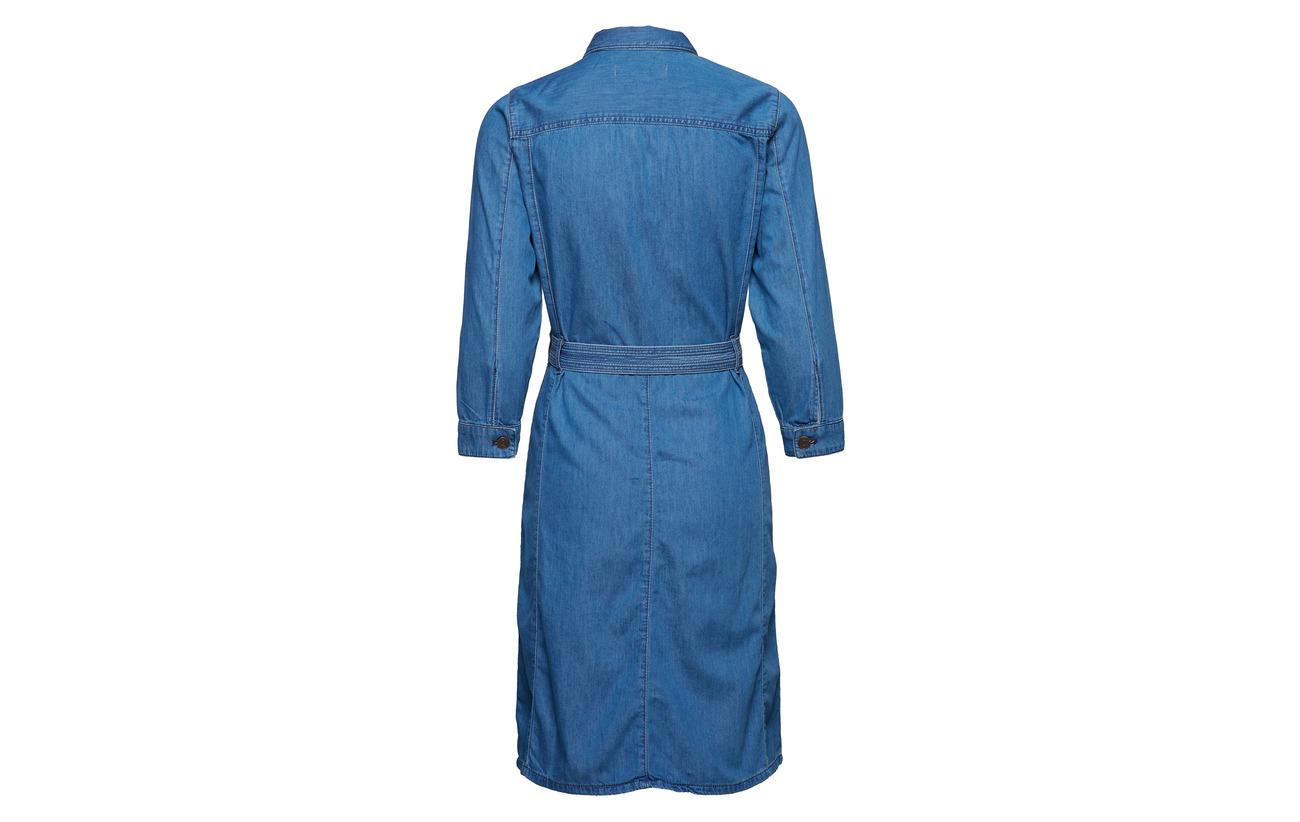 Inwear Dress 100 Coton Indigo Ajda Vintage Light rqCpSrwF