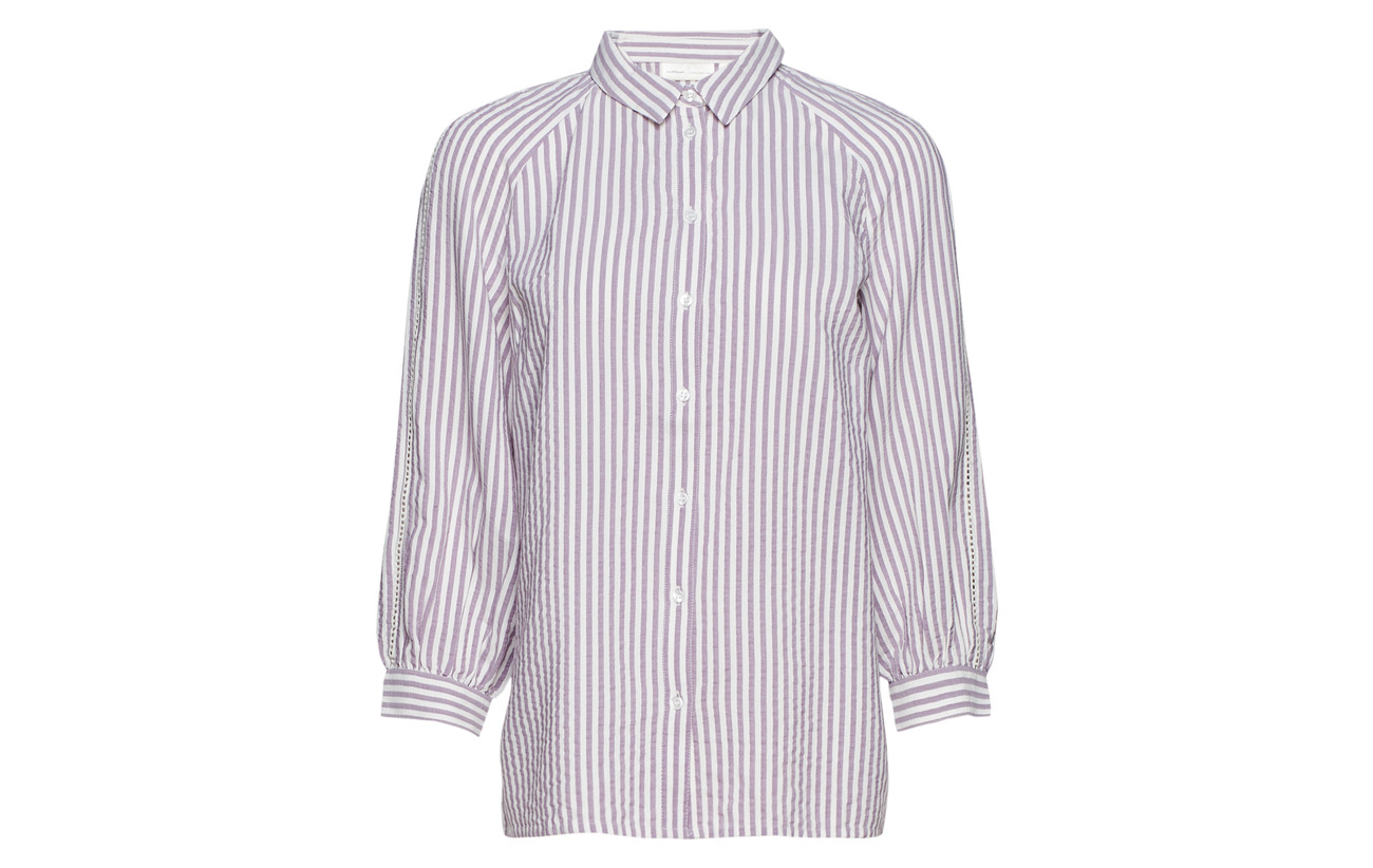 Striped 100 Shirt Inwear Blue Alma Viscose Marine 8v5BZw