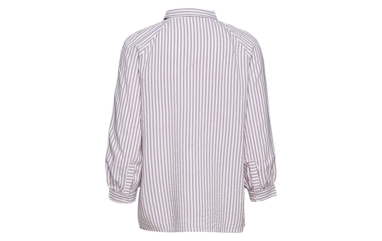 Inwear Grape Alma Striped Sparkling 100 Viscose Shirt rIr7nwx