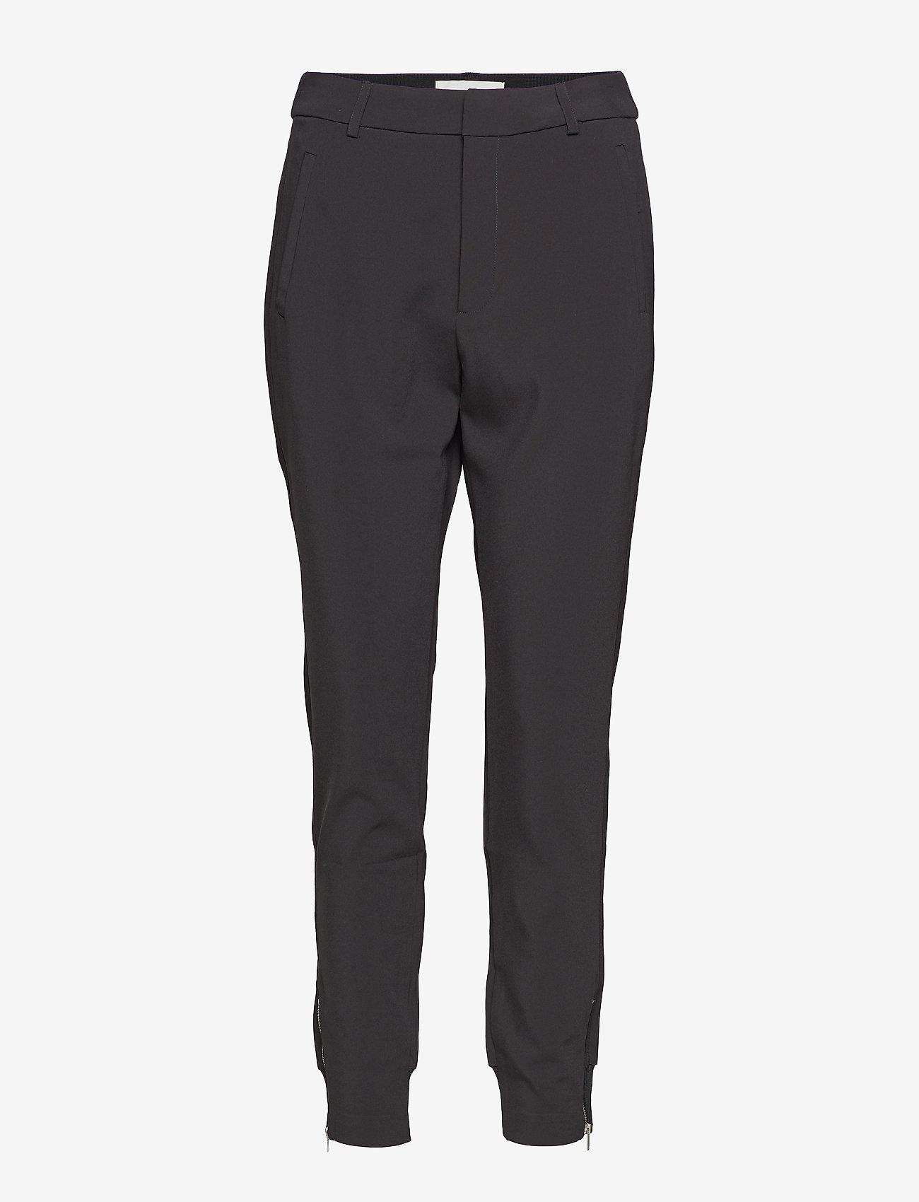 InWear - Nica L Pants - spodnie proste - black - 1