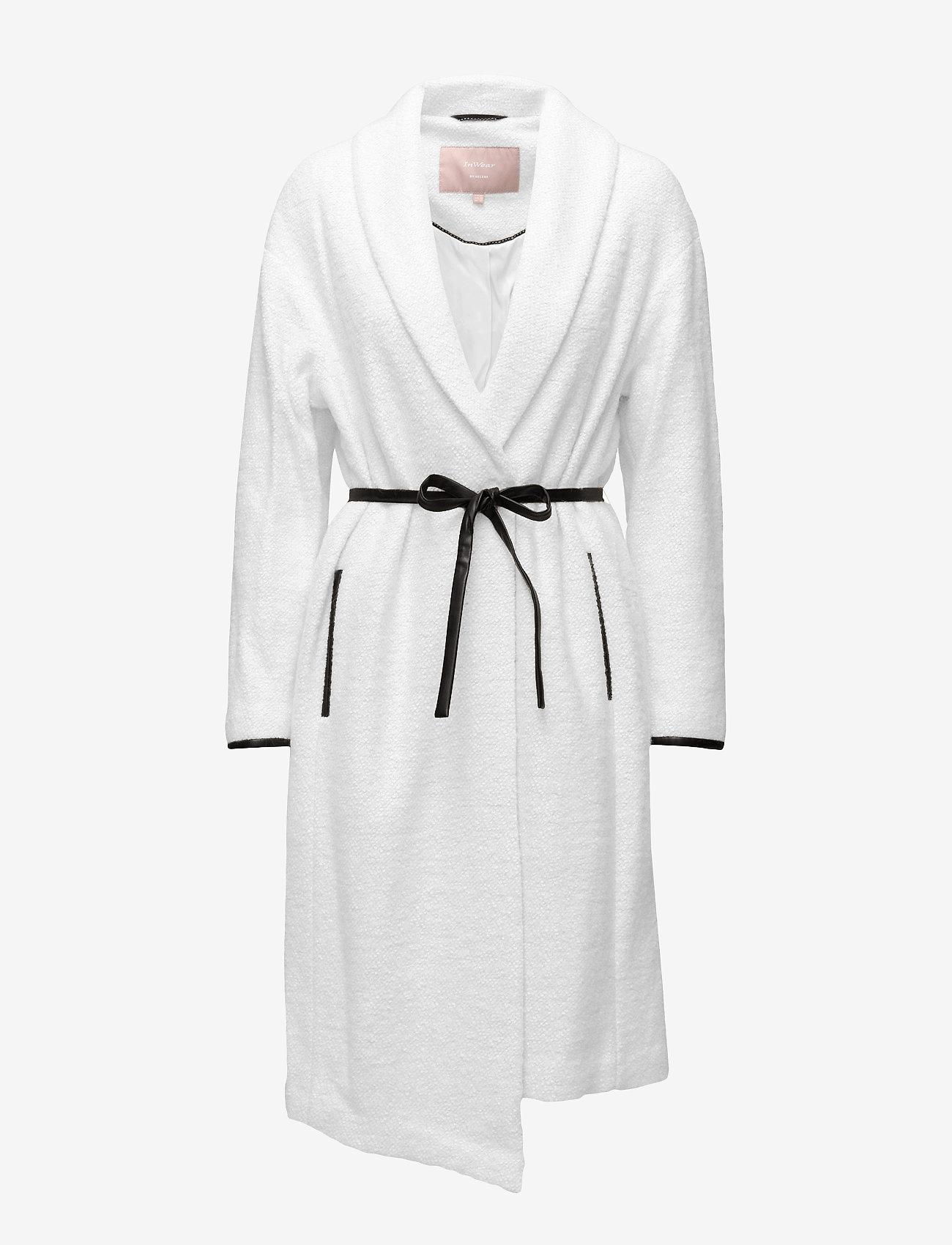 Lea Coat Ow (White Smoke) (600 kr) - InWear uEIzuJtb