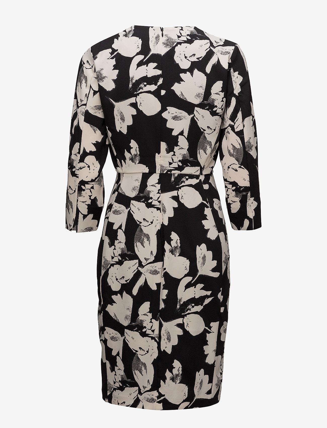 InWear - Chan Dress HW - midi kjoler - watercolor flower black