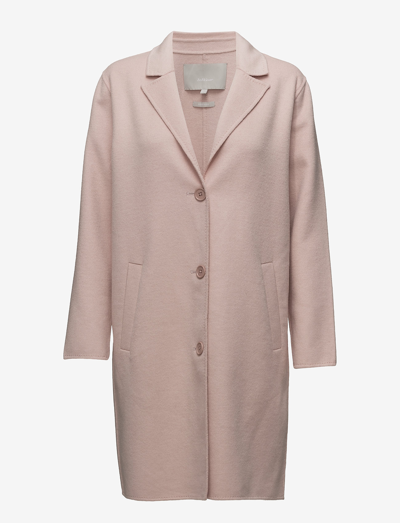 InWear - Carmeo Coat - wool jackets - cameo rose - 0