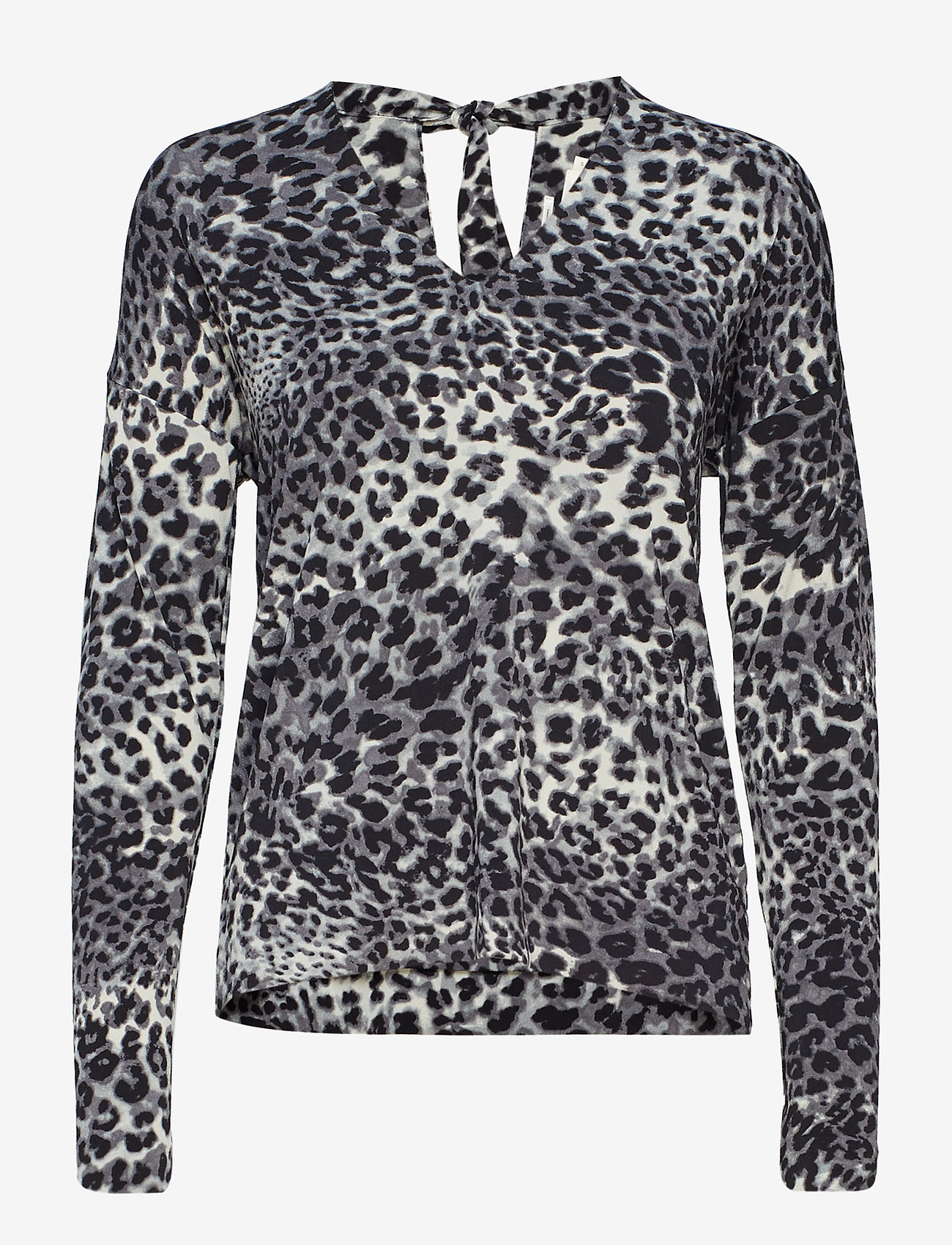 InWear - Fillucca Blouse - long sleeved blouses - leopard non