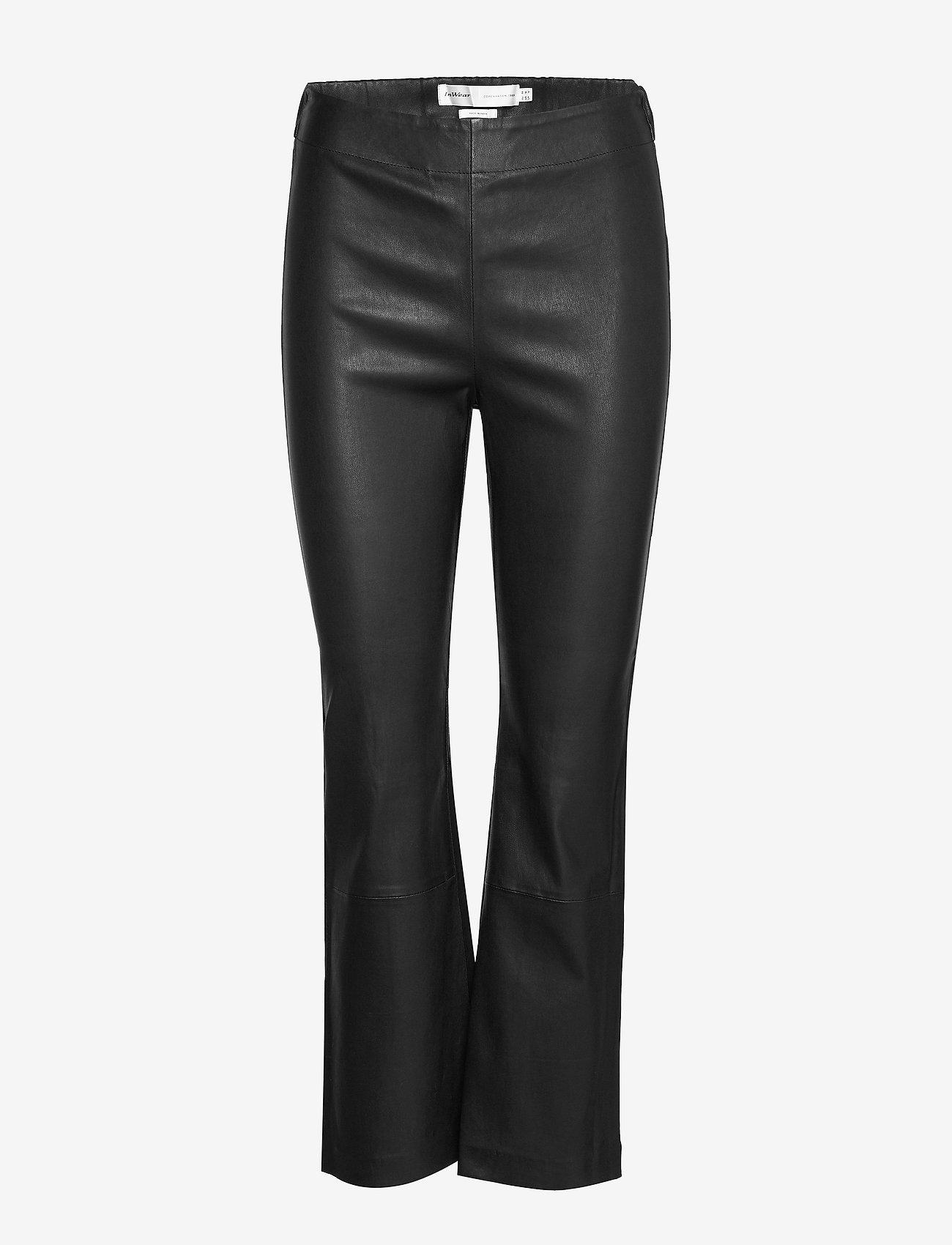 InWear - Cedar Pant - straight leg trousers - black