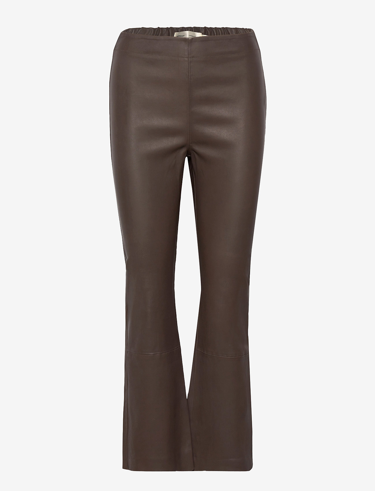 InWear - Cedar Pant - læderbukser - sandy grey - 0