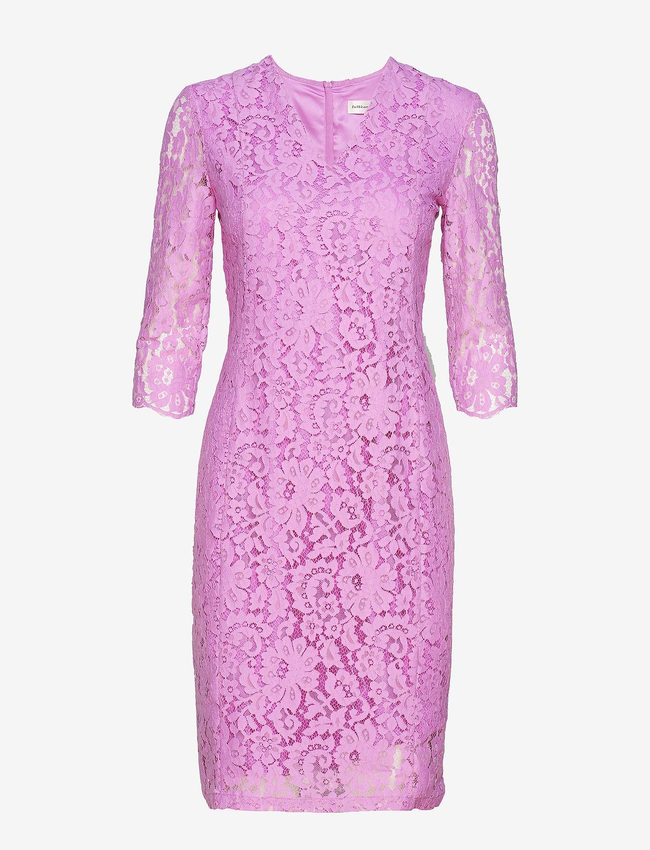 InWear - Zada Dress SO19 - bodycon-kjoler - dahlia pink - 0