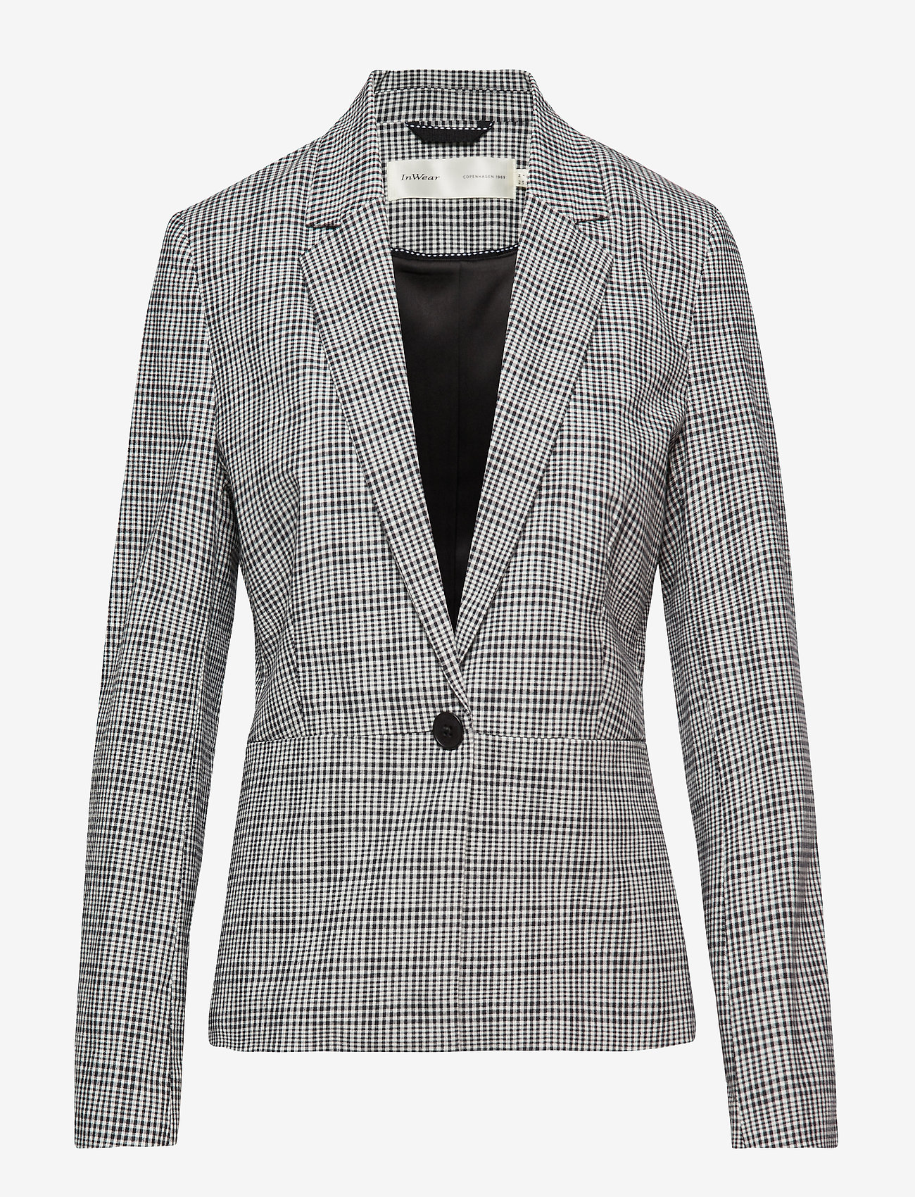 Abianna Blazer (Black And White) (850 kr) - InWear