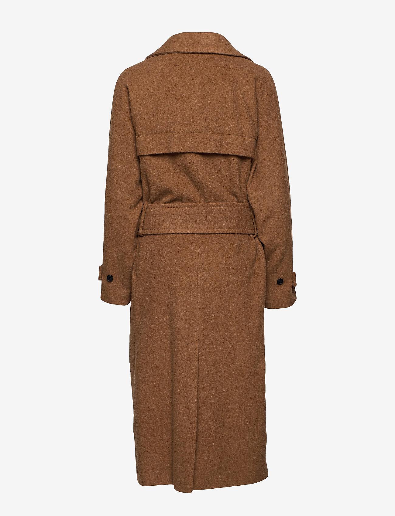 Zelieiw Raglan Coat (Caramel) (1980 kr) - InWear