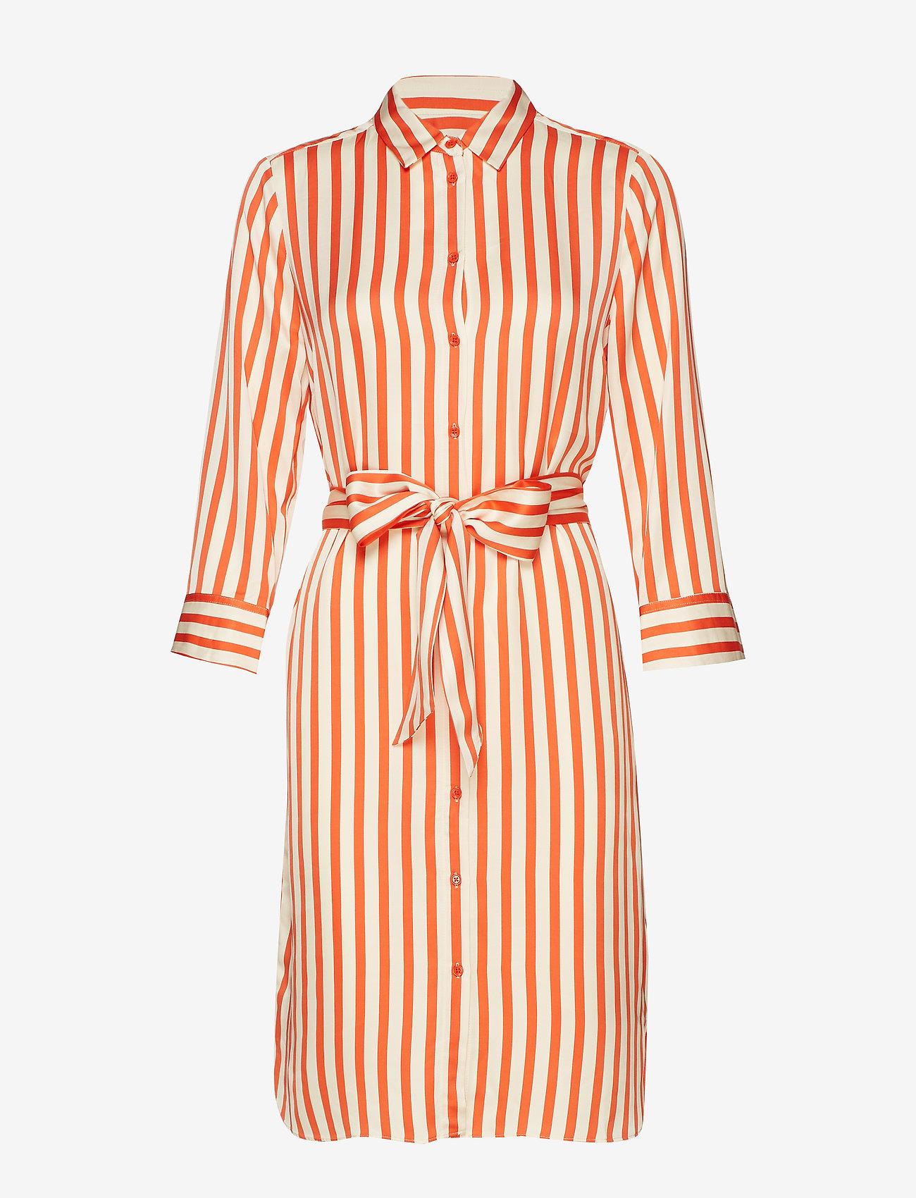 Tamaraiw Dress (Blood Orange Block Stripe) (520 kr) - InWear