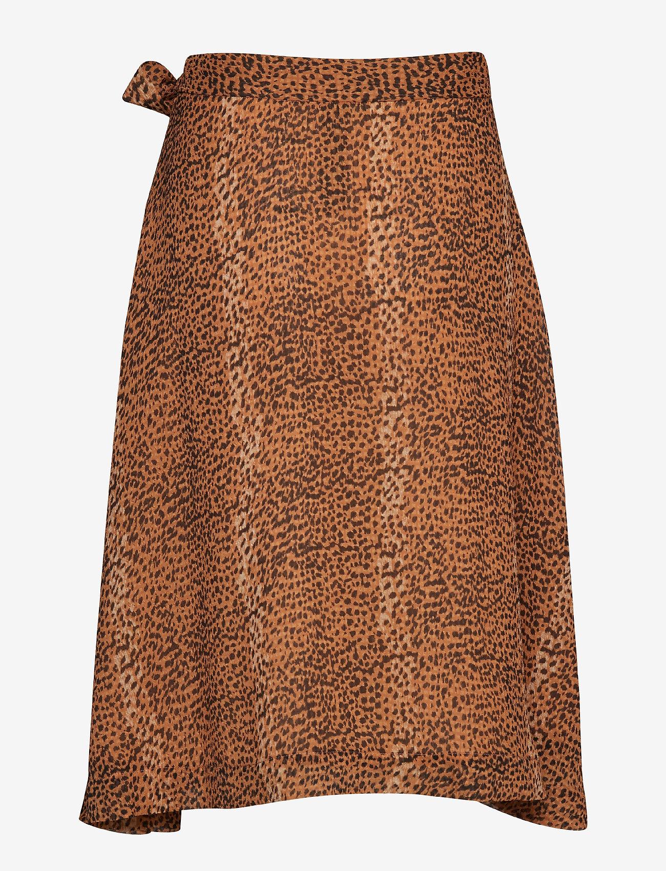 Tanyaiw Skirt (Light Brown Animal) (660 kr) - InWear