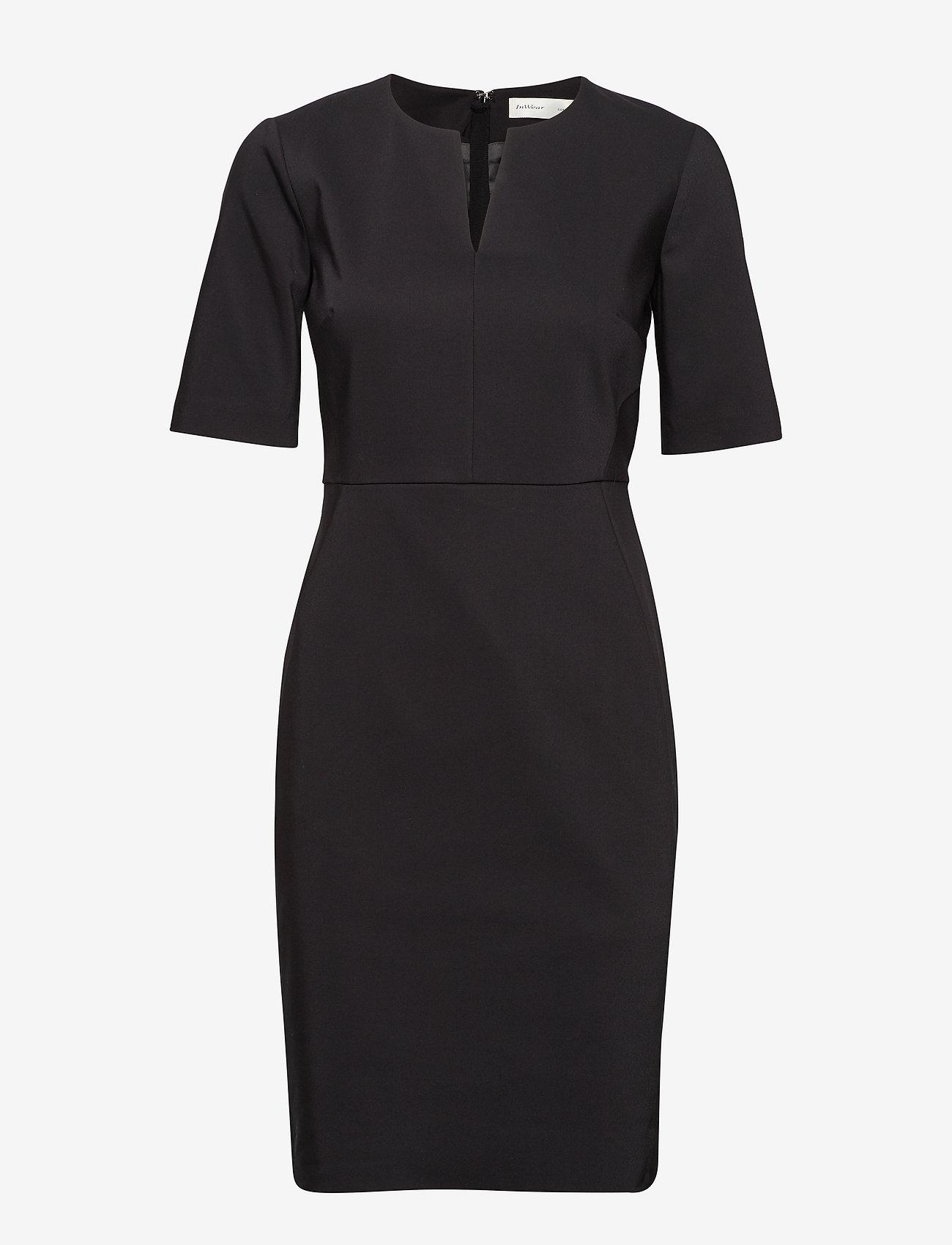 InWear - Zella Dress - cocktailklänningar - black - 1