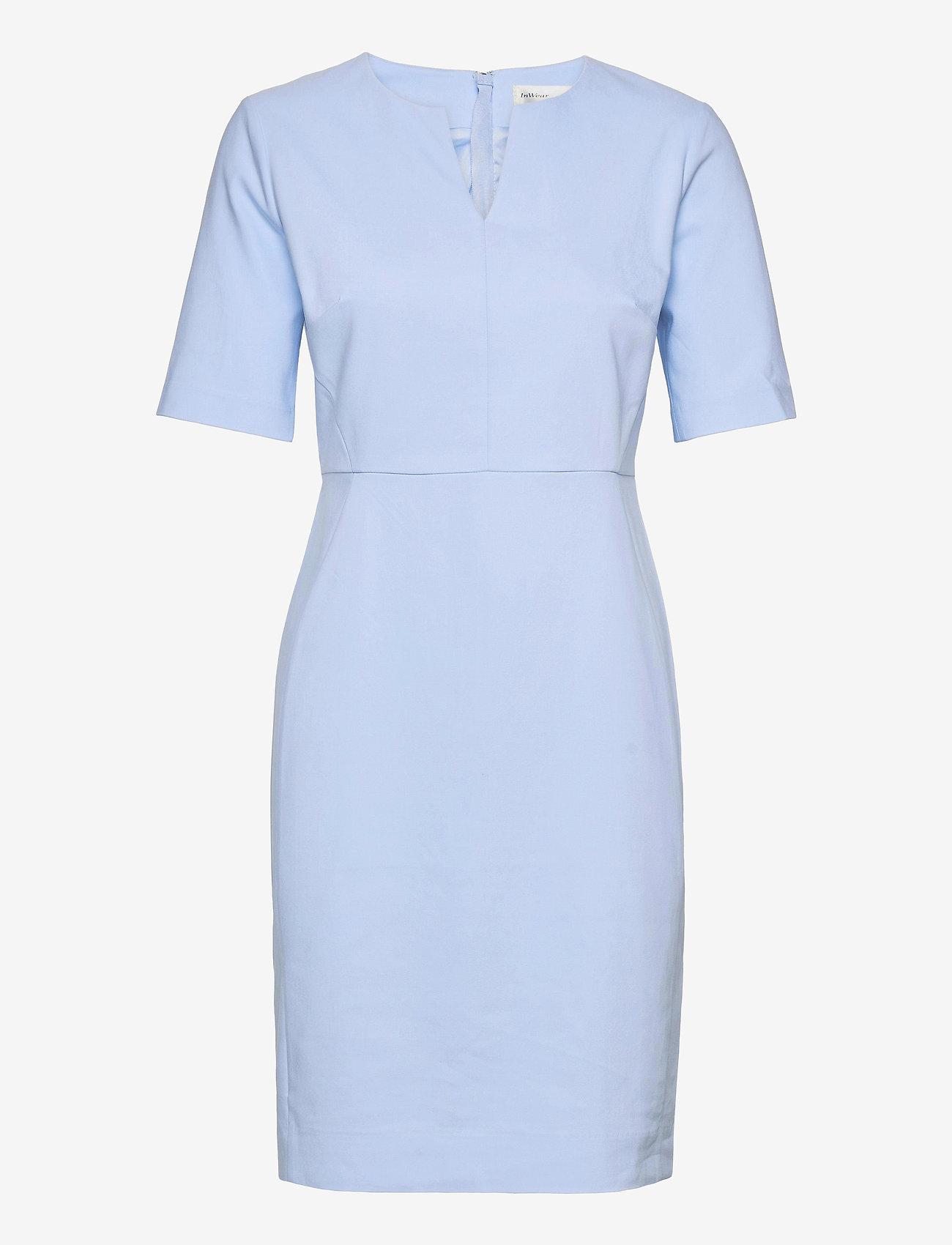 InWear - Zella Dress - vardagsklänningar - bleached blue - 1