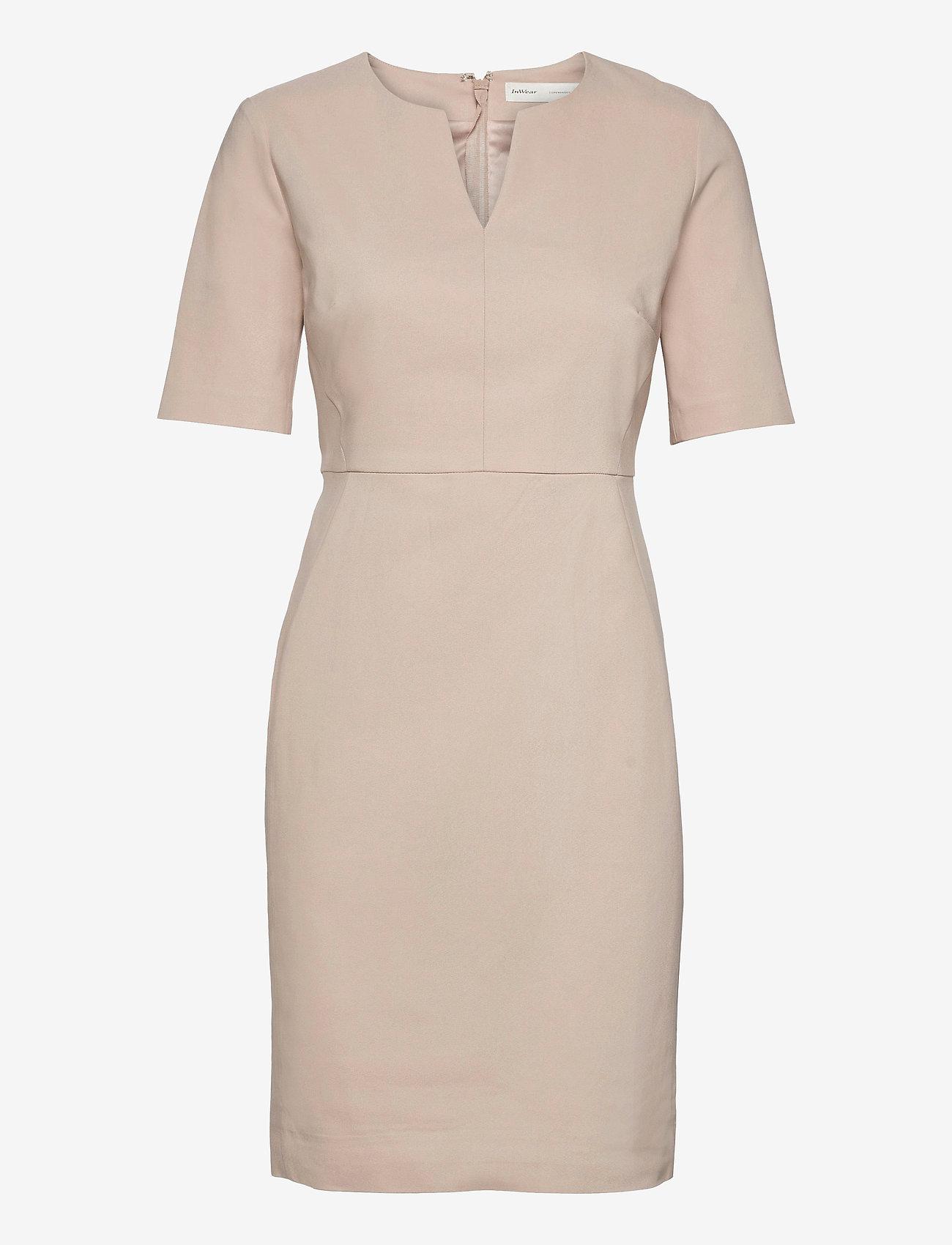 InWear - Zella Dress - vardagsklänningar - sandstone - 1