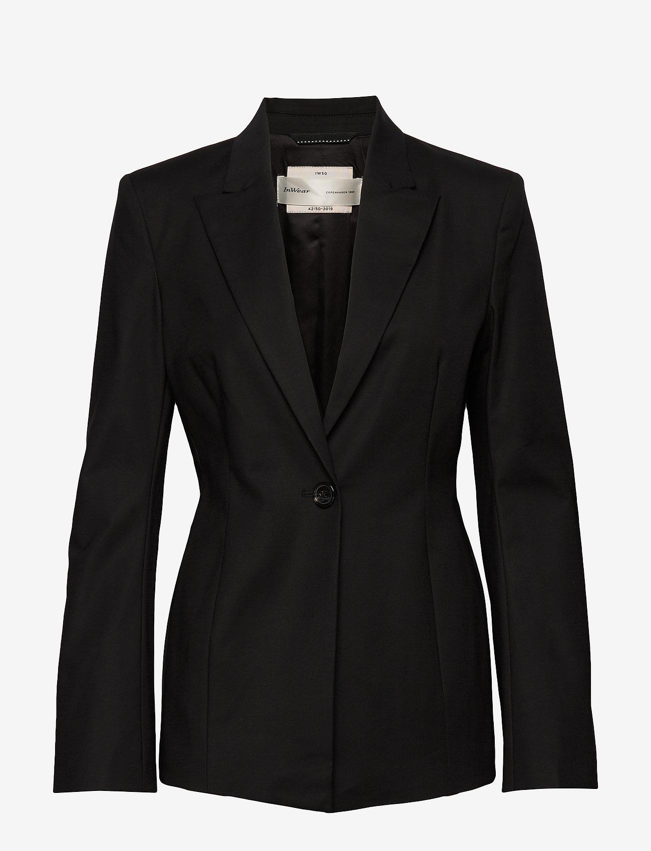 Iw50 42 Maggieiw Blazer (Black) - InWear tReUPv