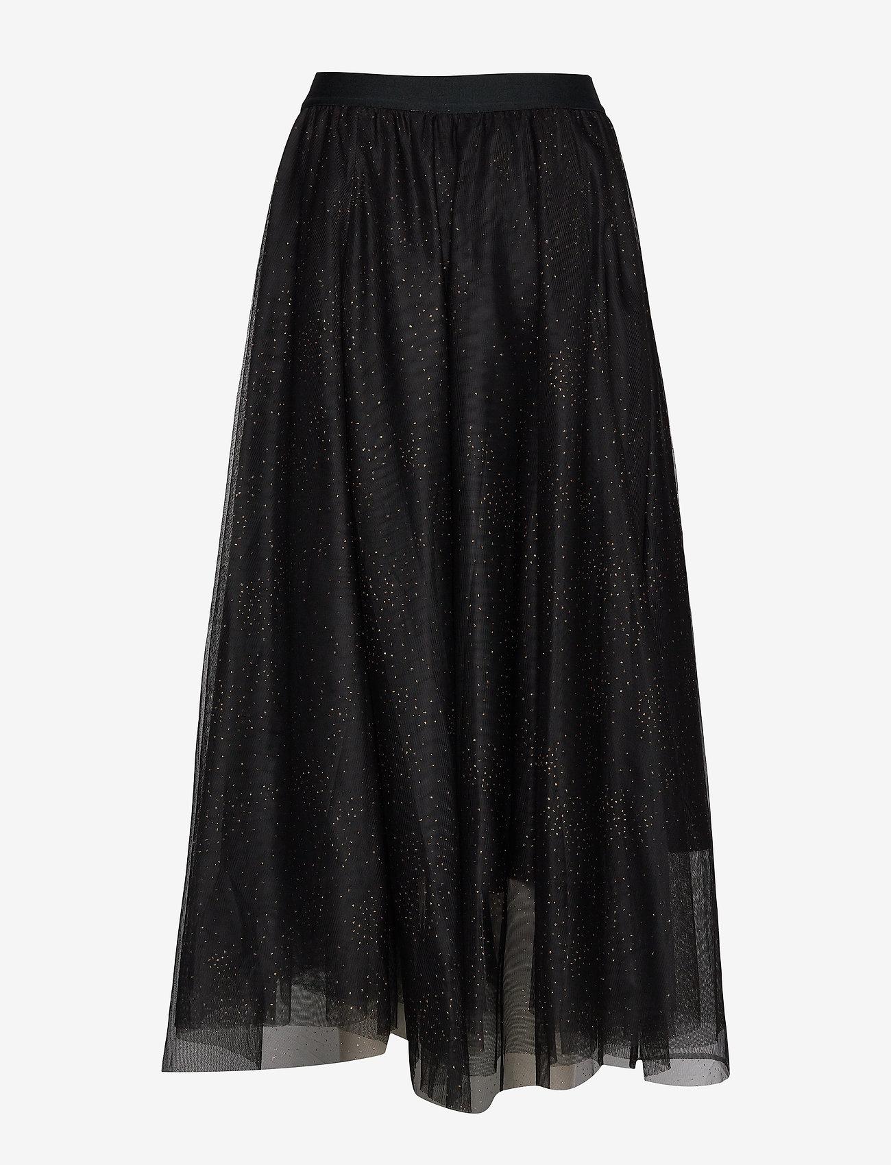 InWear CharlotteIW Skirt - Spódnice BLACK GOLD DOT - Kobiety Odzież.