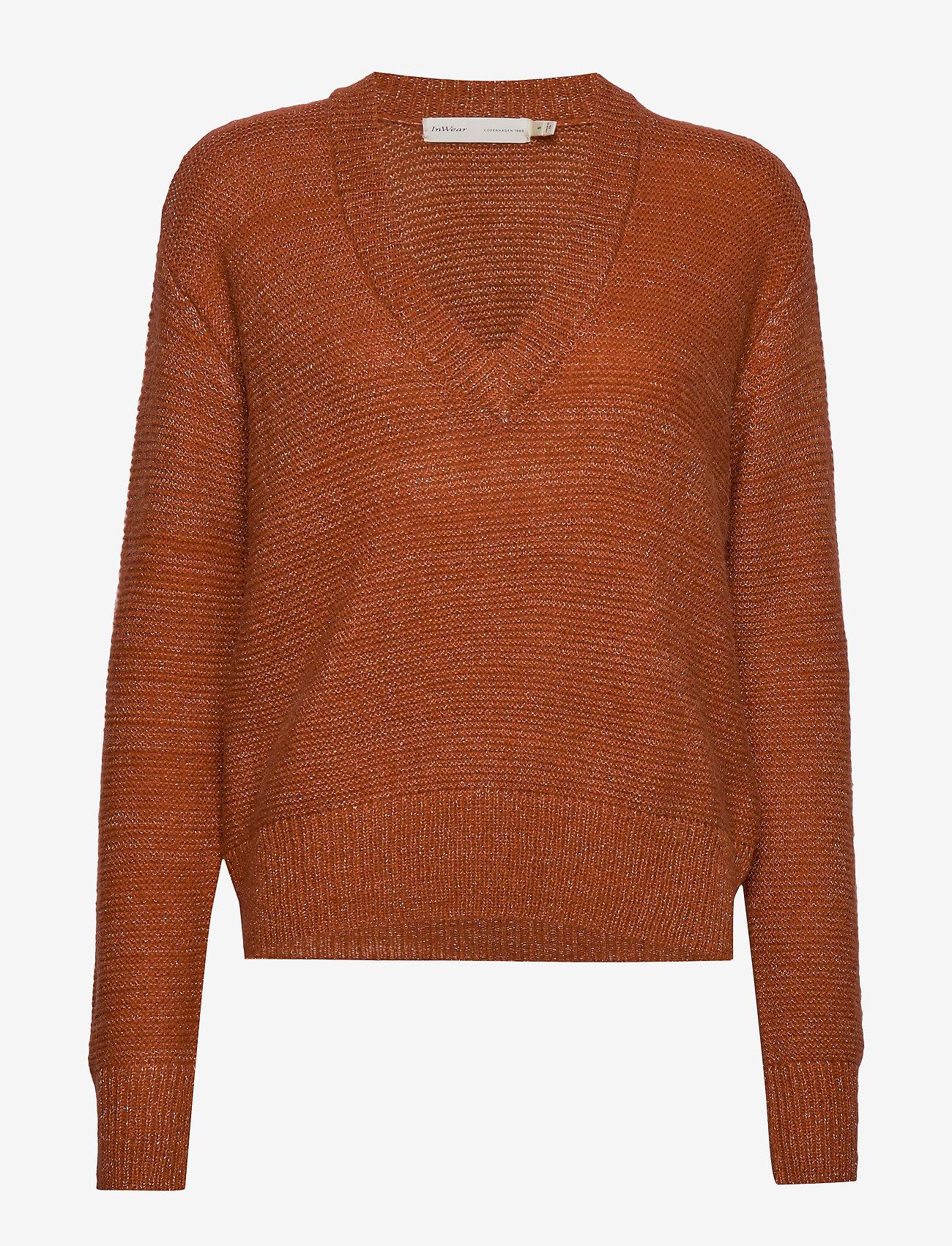InWear - OridaIW Pullover - neulepuserot - rust