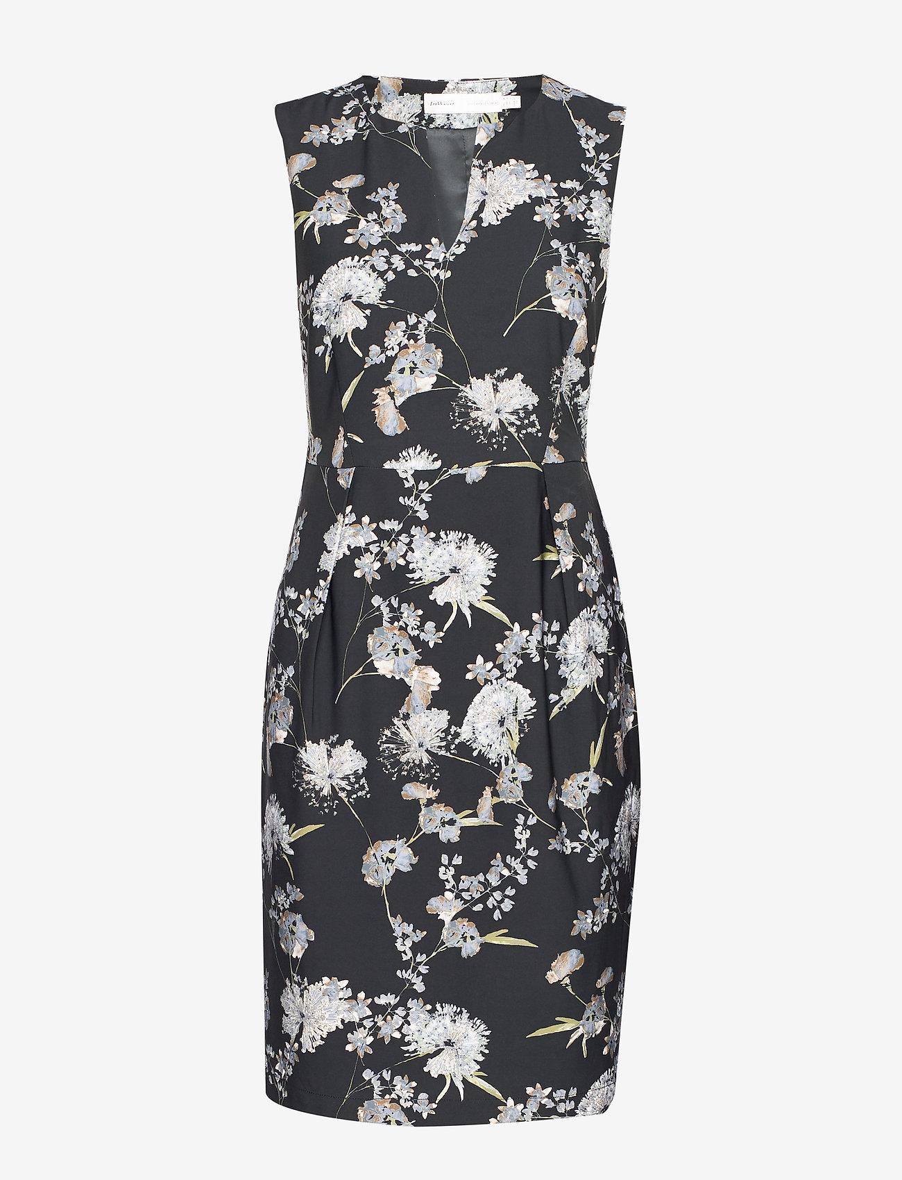 InWear - MahinIW Slim Dress - midimekot - rust elderflower