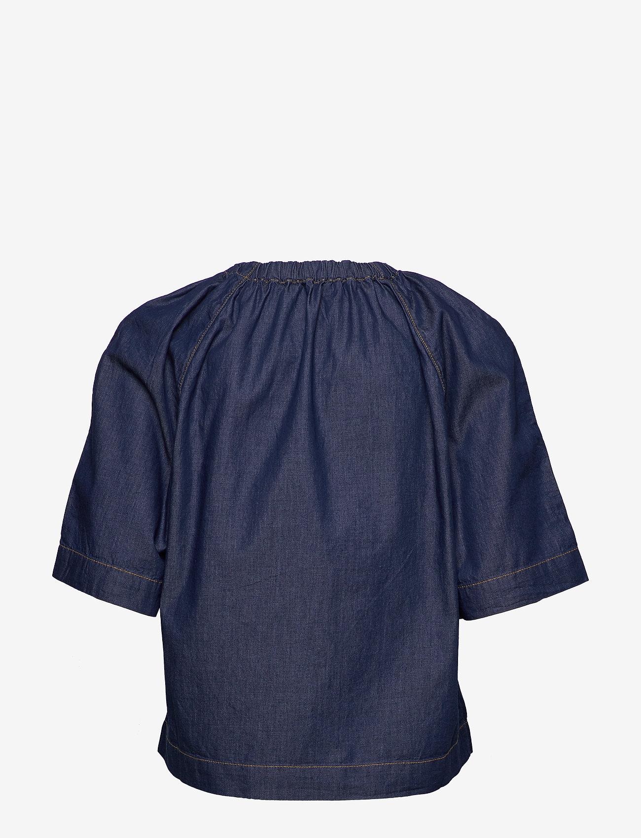 InWear - MinneIW Blouse - bluzki z krótkim rękawem - rinsewash - 1