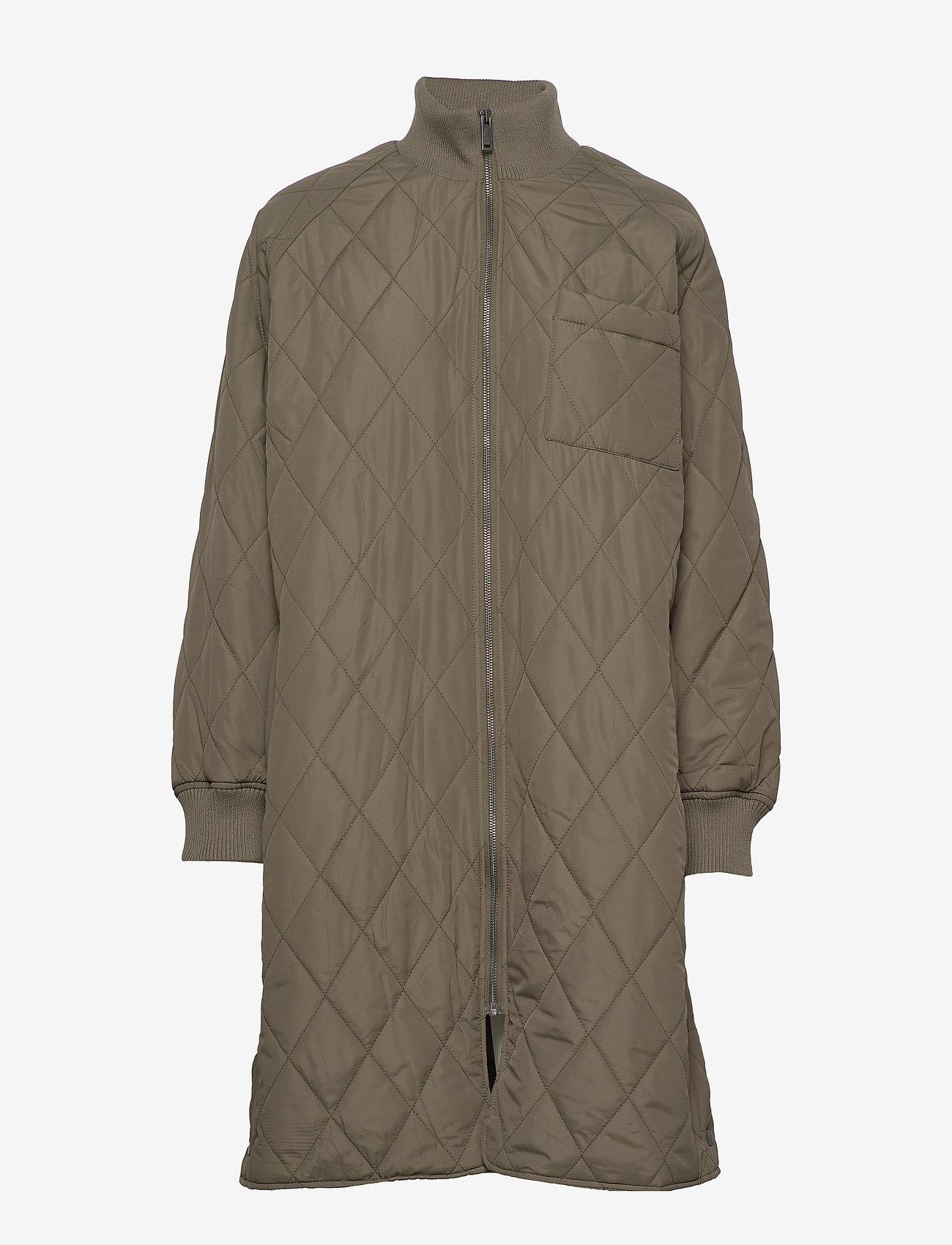 Ektraiw Quilted Coat (Beetle Green) - InWear F7LlI1