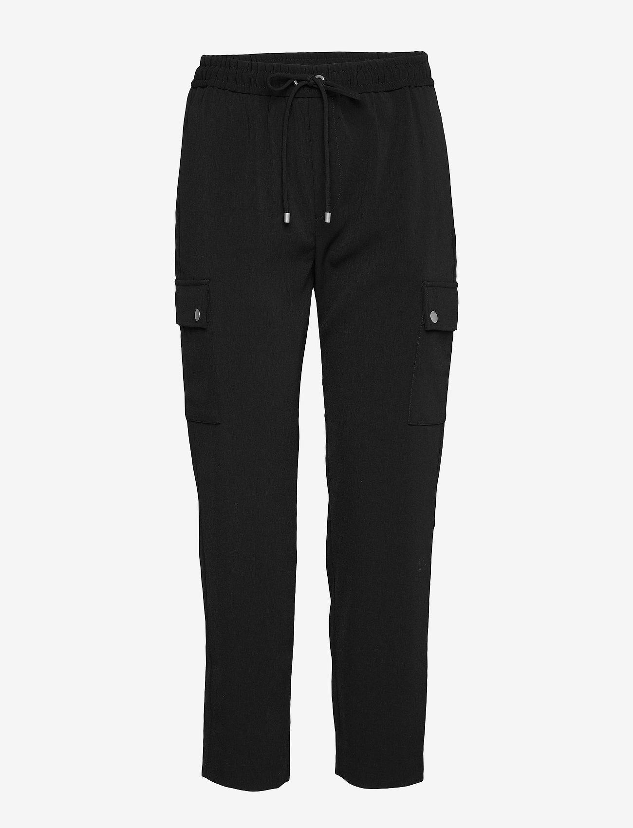 InWear KaydeIW Cargo Pant - Bukser BLACK - Dameklær Spesialtilbud