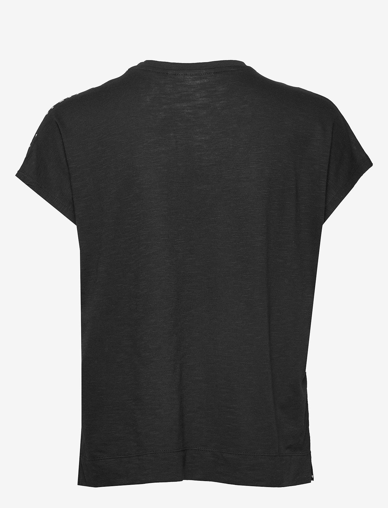 InWear Sicily V T-Shirt - T-shirts & topper BLACK WINDY DOTS - Dameklær Spesialtilbud